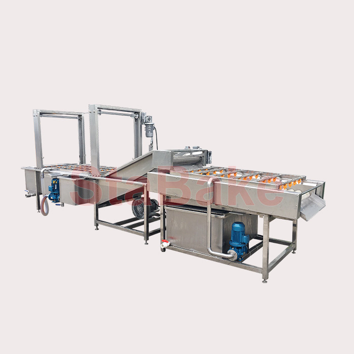 Fruit Vegetable Washing And Drying Processing Line