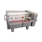 What should I do after the meat cutting machine is used?