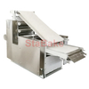 Pizza base forming machine for pizza dough cutting